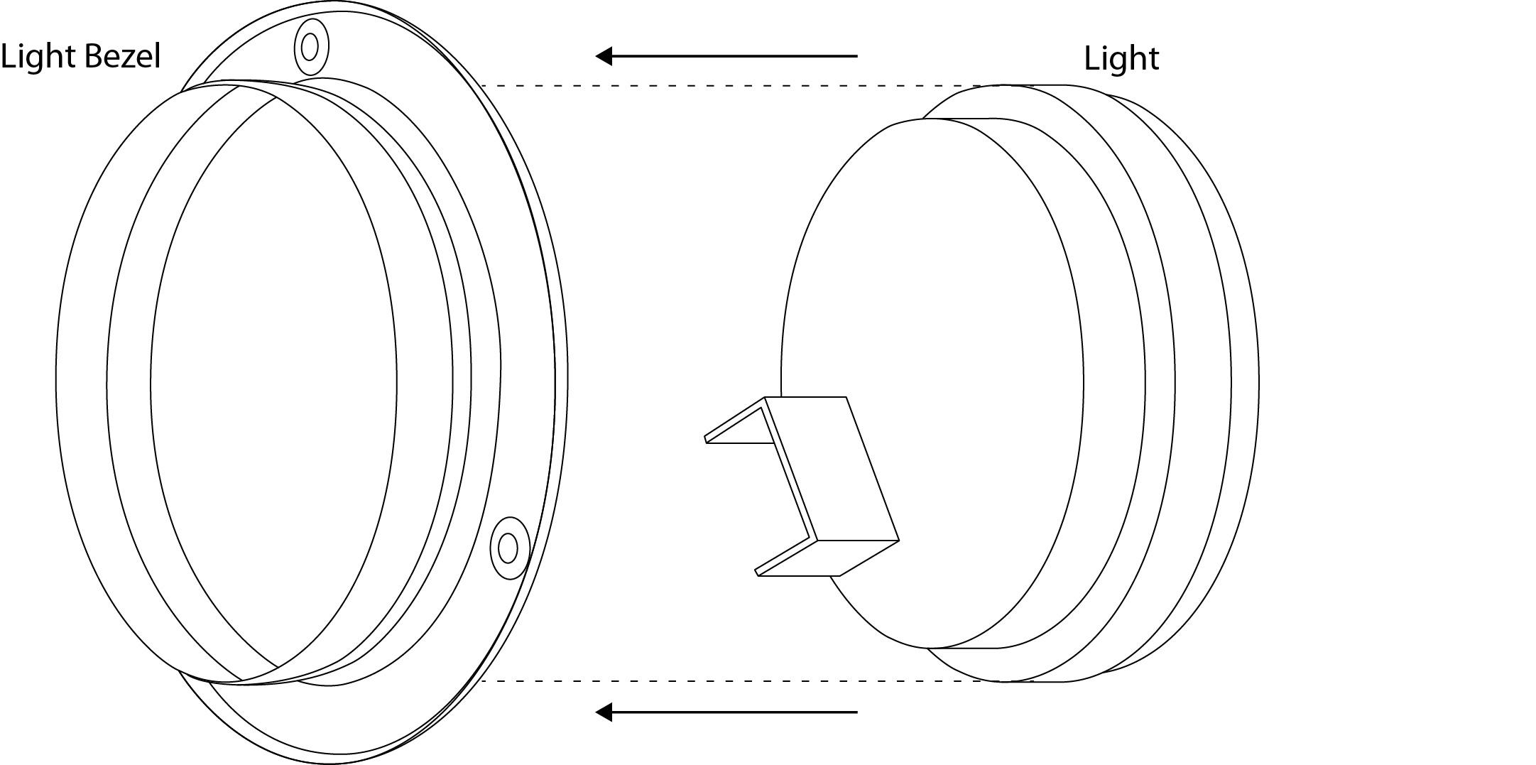 4 u201d stainless steel light bezel  u2013 miamistar com