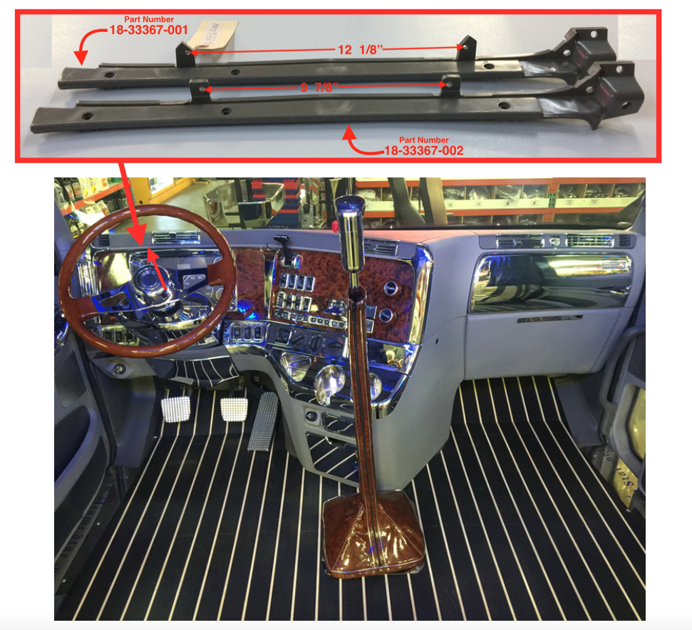 turn signal relay location � on a 1997 fl60 fuse box: dash trim top panel(gauges)  fits freightliner