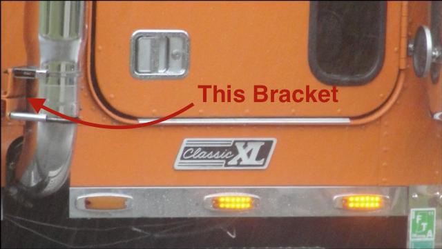 Exhaust Bracket Freightliner Classic Miamistar Com